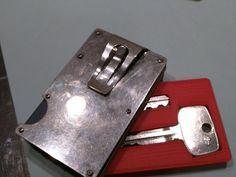 Wallet Spare Key Holder - Credit Card Sized by fetchbeer - Thingiverse