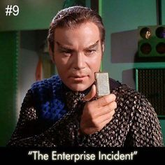 Great episode. Captain Kirk has defected or has he a defect?