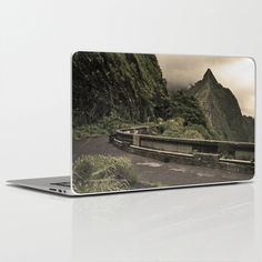 Pali Pass Laptop & iPad Skin by Troy Theodore Marienthal - $30.00