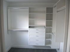 Gray Metal Closet Shelving   EasyClosets.com