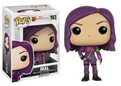 The children of Disney's biggest villains get the Pop! Vinyl treatment! This Disney Descendants Mal Pop! Vinyl Figure features the daughter of Maleficent. Standing about 3 3/4 inches tall, this figure is packaged in a window display box. #funko #popvinyl #actionfigure #collectible #Disney #Descendants #Mal
