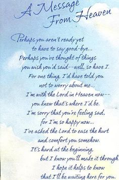 Rip Daddy, Rip Grandpa, Missing Daddy, Nana Grandma, Letter From Heaven, Messages From Heaven, Grief Poems, Mom Poems, Grief Quotes Mother