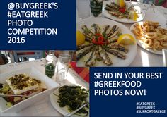 Let's celebrate! Let's flood the internet with pictures of our amazing #Greekcuisine. Send in your #GreekFood photos now and take part in our #EatGREEKPhotoCompetition. https://lnkd.in/epAd2JE