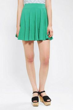 Pins And Needles Knit Circle Skirt Urban Outfitters