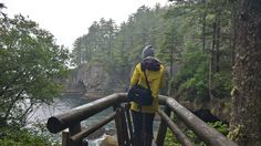 Overlook on the Cape Flattery hike.