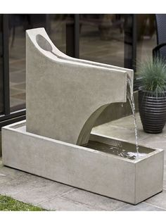 Free Shipping and No Sales Tax on the Precipice Garden Water Fountain from the Outdoor Fountain Pros.