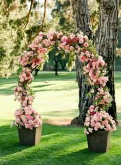 FLORAL ARCH OVER BRIDE AND ROOMS HEAD!!!