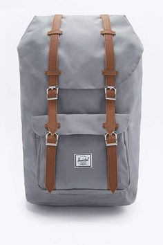 cef6dee7d93b Herschel Supply co. Little America Grey and Tan Backpack