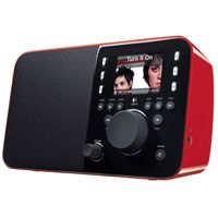 Logitech Squeezebox Radio (Red) (930000097)