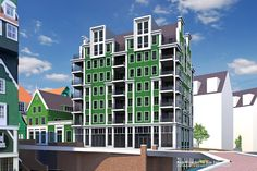 Ontwikkelaar HSB en Zaandam zijn de ontwikkeling van weer een deel #Inverdan overeengekomen: http://www.architectenweb.nl/n37356