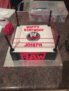 WWE Birthday Cake