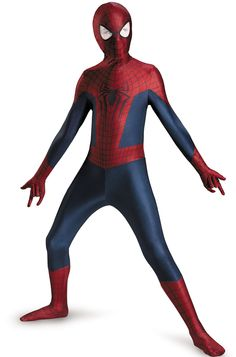 Disguise Marvel The Amazing Spider-Man 2 Movie Spider-Man Boys Bodysuit Costume - Halloween - Halloween Costumes Superhero Costumes For Boys, Kids Spiderman Costume, Tween Costumes, Villain Costumes, Spiderman Movie, Halloween Costumes For Teens, Family Costumes, Costume Halloween, Superhero Party