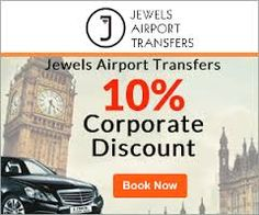 Jewels airport transfers specialize in #Heathrow_Airport_Taxi  #transfers to anywhere in London from the Heathrow Airport. So your first travel inside the city is hassle free and quick.