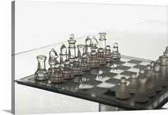 Contemporary chess set
