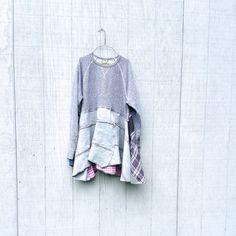 upcycled boho lagenlook romantic dress / Upcycled by CreoleSha
