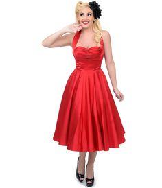 Unique Vintage Lace Claudette -Pinup Dress -uniquevintage - This ...