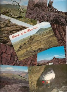 Idaho postcards, Craters of the Moon National Monument