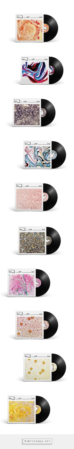 on Branding Served curated by Packaging Diva PD. Album cover packaging patterns that are trying to display the tone of the music visually Corporate Design, Graphic Design Branding, Identity Design, Cd Design, Album Cover Design, Design Ideas, Cd Album Covers, Music Covers, Vinyl Platten