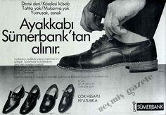 1987 Ayakkabı Sümerbank'tan alınır
