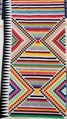 Kilim inspired quilt