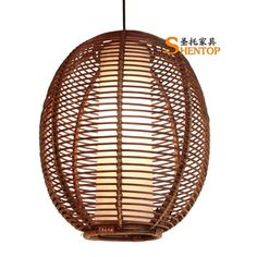 Rattan artificial lamp | Droplight,http://www.shentop.net