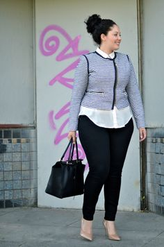 Girl With Curves: Nautical Gone Rogue