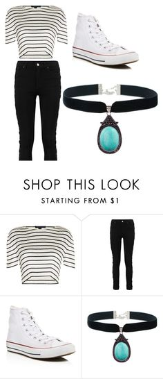 """""""Dayana"""" by lilicabsilveira-1 on Polyvore featuring Alexander Wang and Converse"""