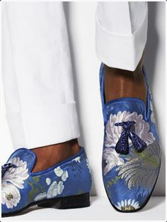 Go bold and choose such vibrant designed and colored loafers instead!