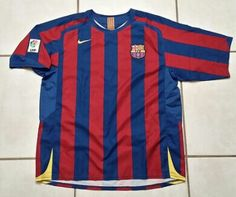 Vintage NIKE FC Barcelona Soccer Jersey #jerseys#soccer#futbol#fcbarcwlona#barcelona#laliga#uefa#championsleague#ebay#ebayseller#messi