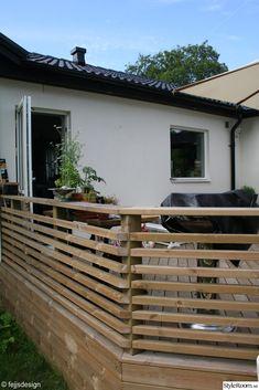altanräcke Deck Railing Design, Patio Deck Designs, Cabin Interiors, Decks And Porches, Outdoor Living, Outdoor Decor, Diy Pergola, Garden Gates, Home And Garden