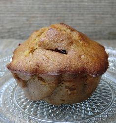 Muffins à la châtaigne et au chocolat sans gluten et sans lactose