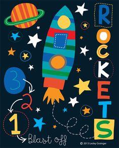 The not so distant future ;-D 3, 2, 1... rockets grainger