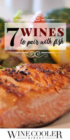 7 Wines to Pair with Fish: Fish and wine pairings can include more than just a… Best Fish Recipes, Seafood Recipes, Wine Recipes, Favorite Recipes, Best Wine To Drink, Wine Party Appetizers, Wine Tasting Party, Wine Guide, Baked Fish