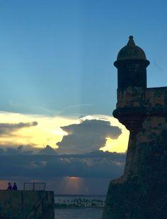 Atardecer en El Morro. Foto José E. Maldonado / www.miprv.com