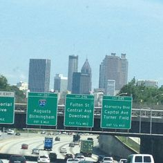 Atlanta GA - if you can drive in Atlanta, you can drive anywhere!