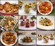 Una raccolta di Ricette con pollo molto buone e gustose . Alcuni piatti perfetti come secondi finger food per cene buffet o aperitivi particolari.