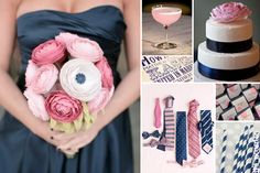 I love navy for a wedding color!