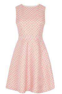 Daisy Jacquard Skater Dress