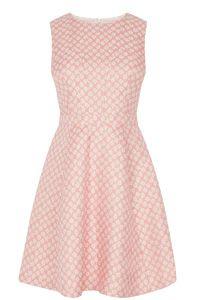 Daisy Jacquard Skater Dress