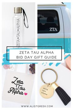We know you can't wait to spoil your new members this bid day. With this list of the best ZTA accessories you'll be sure to blow them away with gifts you know they'll love! #zetataualpha #zta #zeta #biddaygifts #sororitygifts