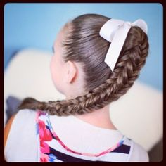 4 sided Fishtail Braid x Quick Curly Hairstyles, 5 Minute Hairstyles, Cute Girls Hairstyles, Box Braids Hairstyles, Pretty Hairstyles, Sporty Hairstyles, Hairdos, Summer Hairstyles, Fish Tail Side Braid
