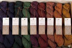 Alice Starmore 2 ply Hebridean palette would be a great Christmas gift for a knitter you love.
