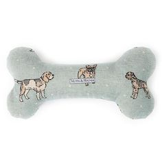 Luxury Dog Print Duck Egg Bone Toy - Mutts and Hounds