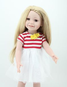"""New 2015 Dolls 18"""" full soft touch vinyl. Available at www.harmonyclubdolls.com"""
