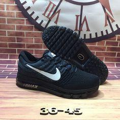 Nike Air Max 2017 Black Grey Mesh Shoes  airmax2017-190  -  65.90   1467b02c64726