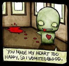 you make me sick =P