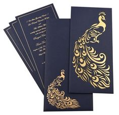 #ScrollWeddingInvitations provides an exclusive collection of #PeacockThemeWeddingInvitation Cards in many designs and patterns. See our collection and select the best one for your wedding @ http://bit.ly/1NW1O7n #ScrollWeddingInvitations