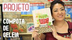 PROJETO | PINTURA COM STENCIL - COMPOTA DE GELEIA  | 31.03.17 | MAYUMI T...