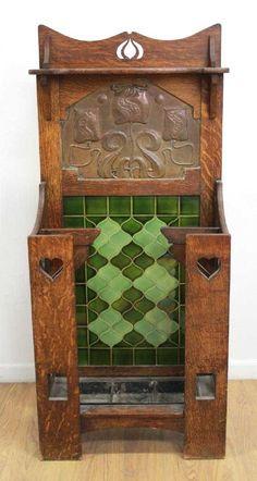 Precise Antique Pair Victorian Leaf Tiles Products Are Sold Without Limitations Ceramics & Porcelain