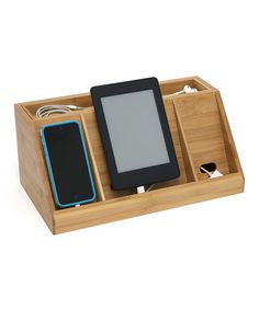 Another great find on #zulily! Bamboo Recharger Station #zulilyfinds